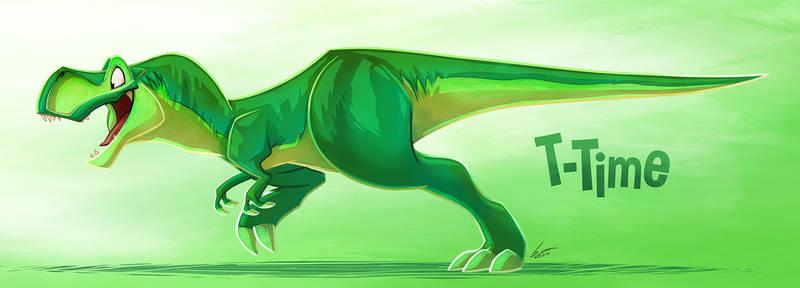 T-TIME the Tyrannosaurus Rex