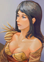 Golden Dancer by Galsein