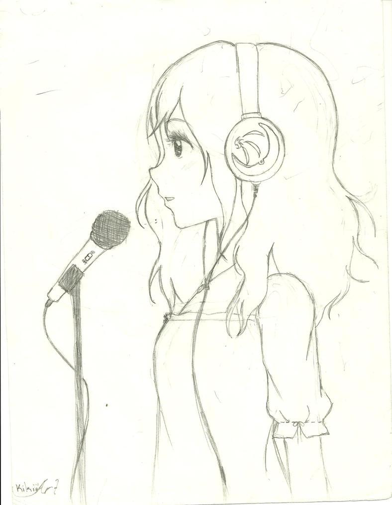 Anime Girl Singing By KanakoSaku07 On DeviantArt