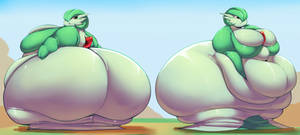 Acapella Traced THICKER Fat
