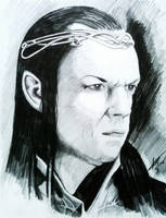 Elrond of Rivendell by phantomphreaq
