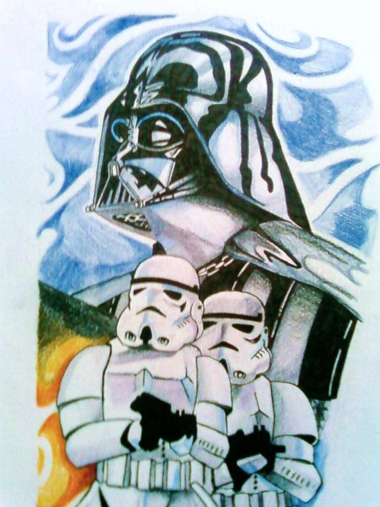 Star Wars Design 1 by phantomphreaq