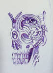 Biomechanical Half Skull