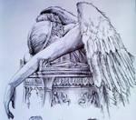 Angel Of Grief detail pt 1
