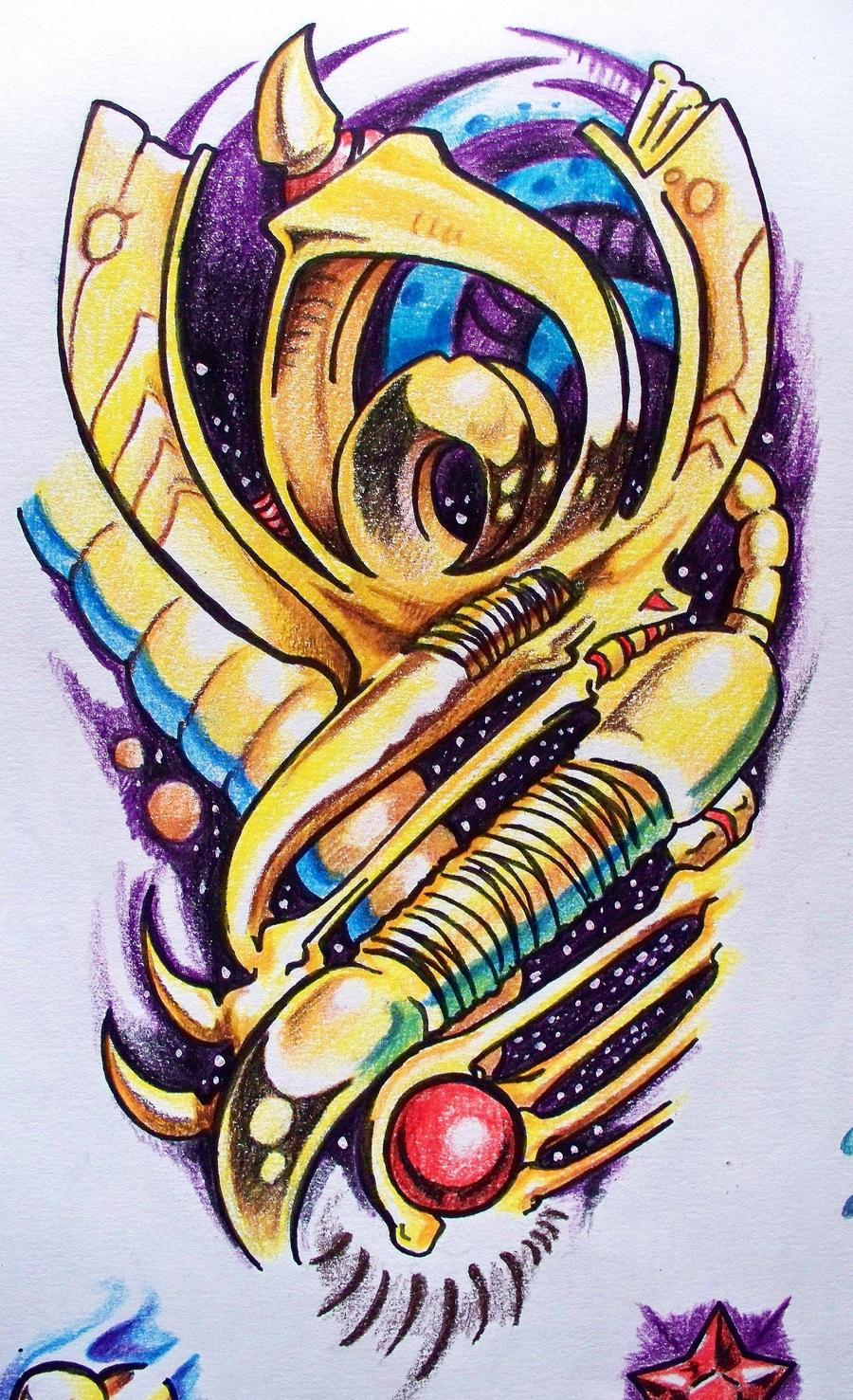 biomechanical color - photo #10