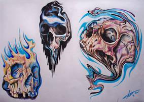 Skullies by phantomphreaq