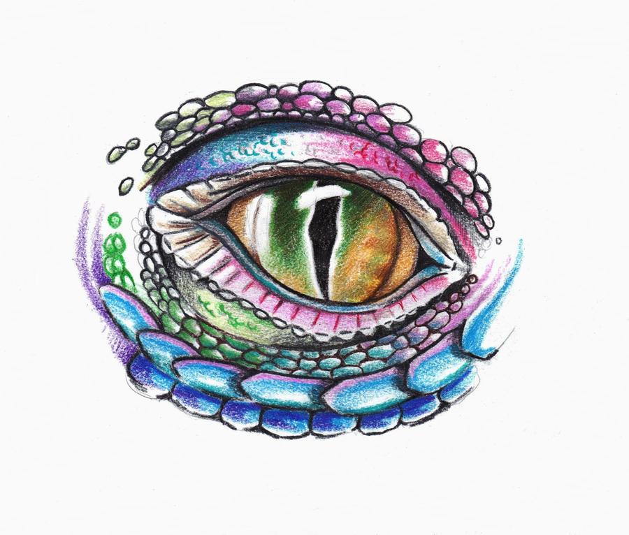 Reptile Eye by phantomphreaq
