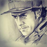 Fernando Alonso by phantomphreaq
