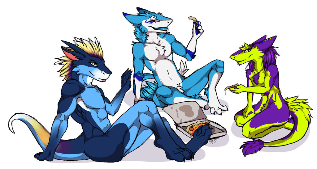 [NI3LS] Melty Cheese Pies with my Barksharks by teryxc