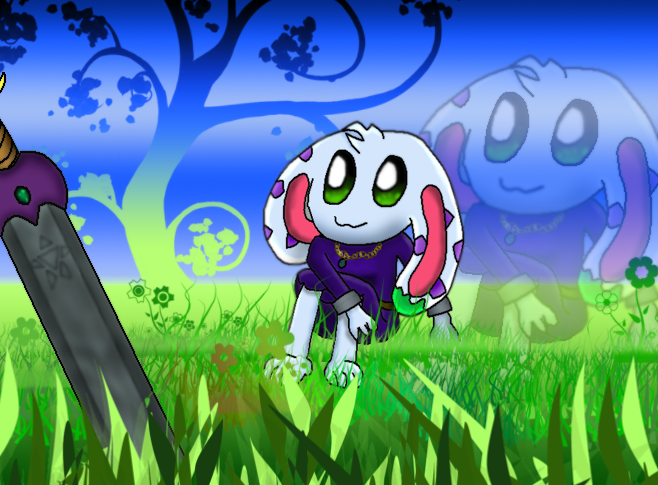 Lunaria 'On the spring field' by Green-Kirby