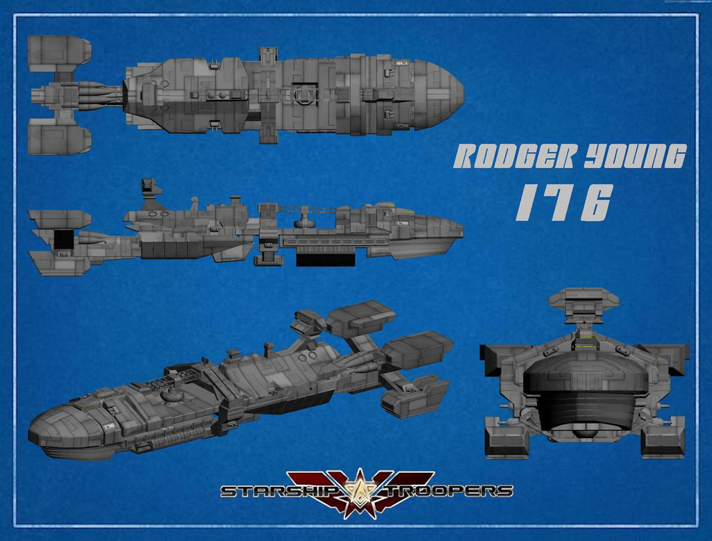 Rodger Young Schematic by Rebelmoon