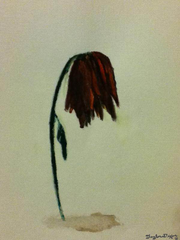 Slow Dying Flower by TaylorAnnDixon