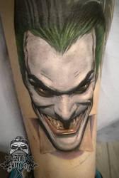 Joker Batman by inksurgeon