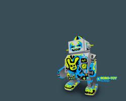 Robo-Toy by forkiu