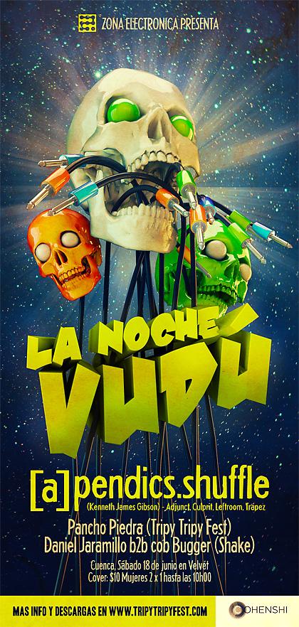 La Noche Vudu by forkiu
