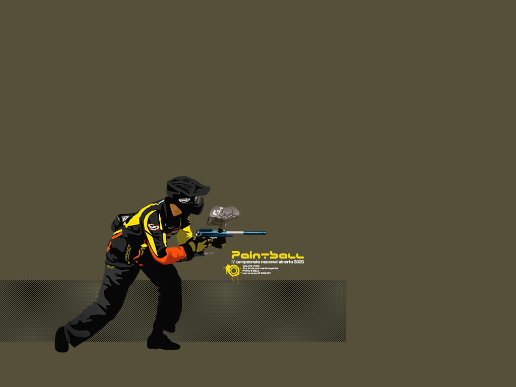 Paintball gun wallpaper