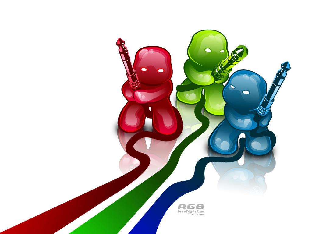 RGB Knights by forkiu