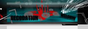 Website Header: Decodation