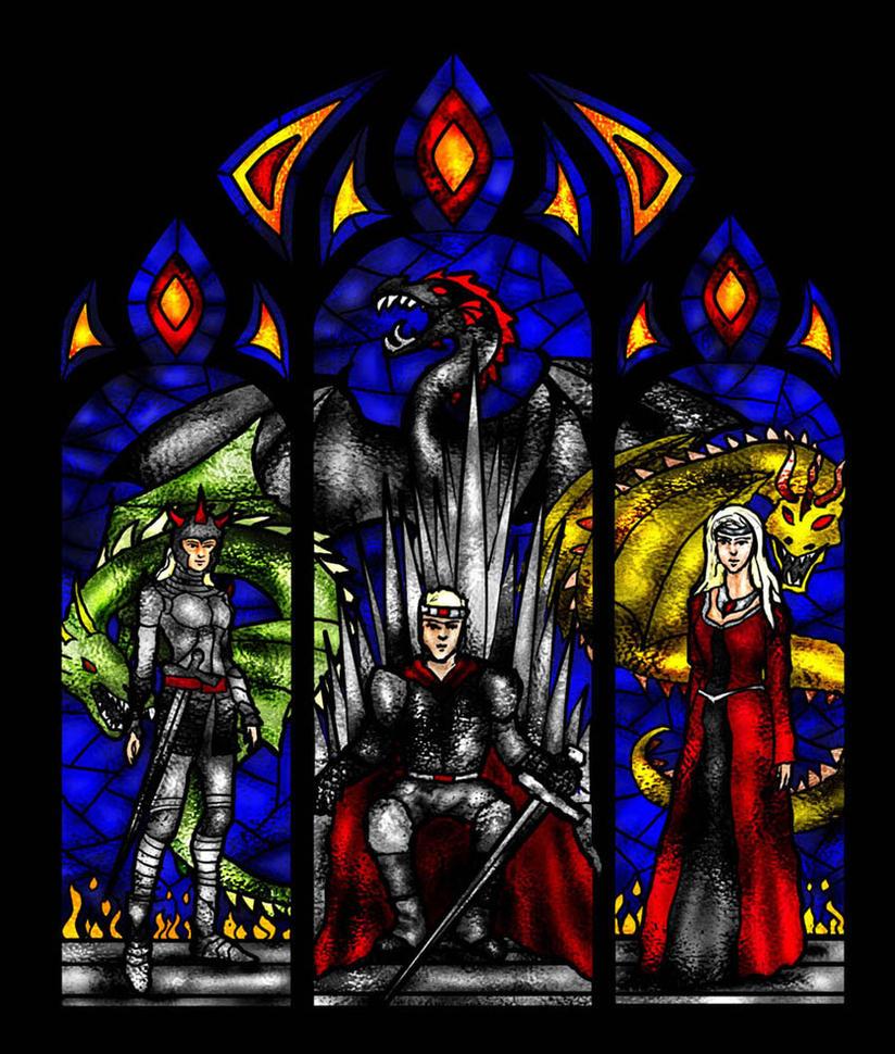 Targaryen Window Calendar May by guad