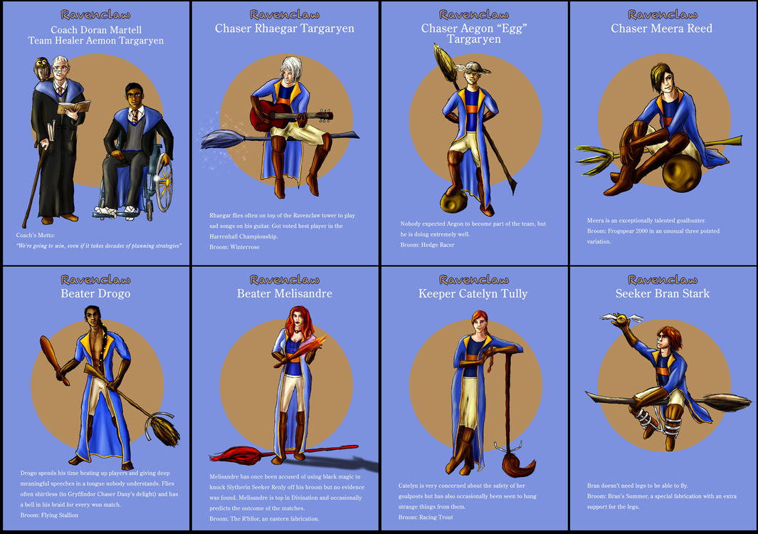 Ravenclaw Asoiaf Quidditch 1 by guad