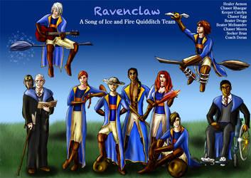Ravenclaw Asoiaf Quidditch 2 by guad