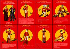Gryffindor Asoiaf Quidditch 1 by guad