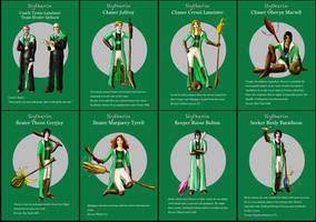 Slytherin Asoiaf Quidditch 1