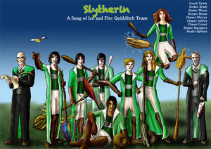 Slytherin Asoiaf Quidditch 2