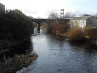 Rail bridge by Keresaspa