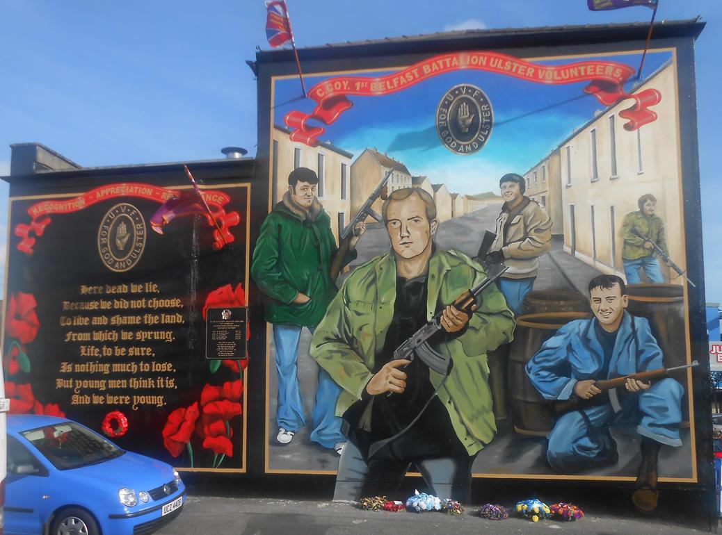 Carnan mural by Keresaspa