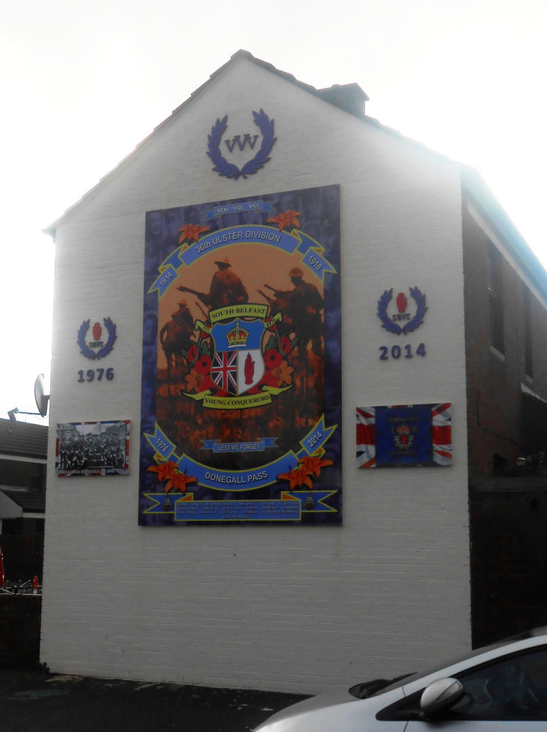 36th Division mural by Keresaspa