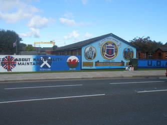 UDA mural Newtownards Road by Keresaspa