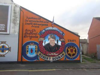 Robert Dougan mural (new version) by Keresaspa