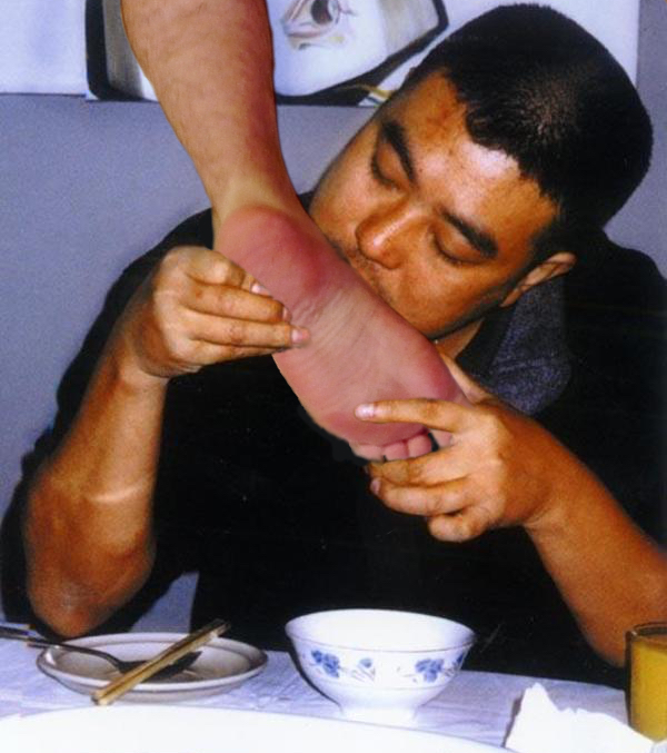 Asian Male Foot 96