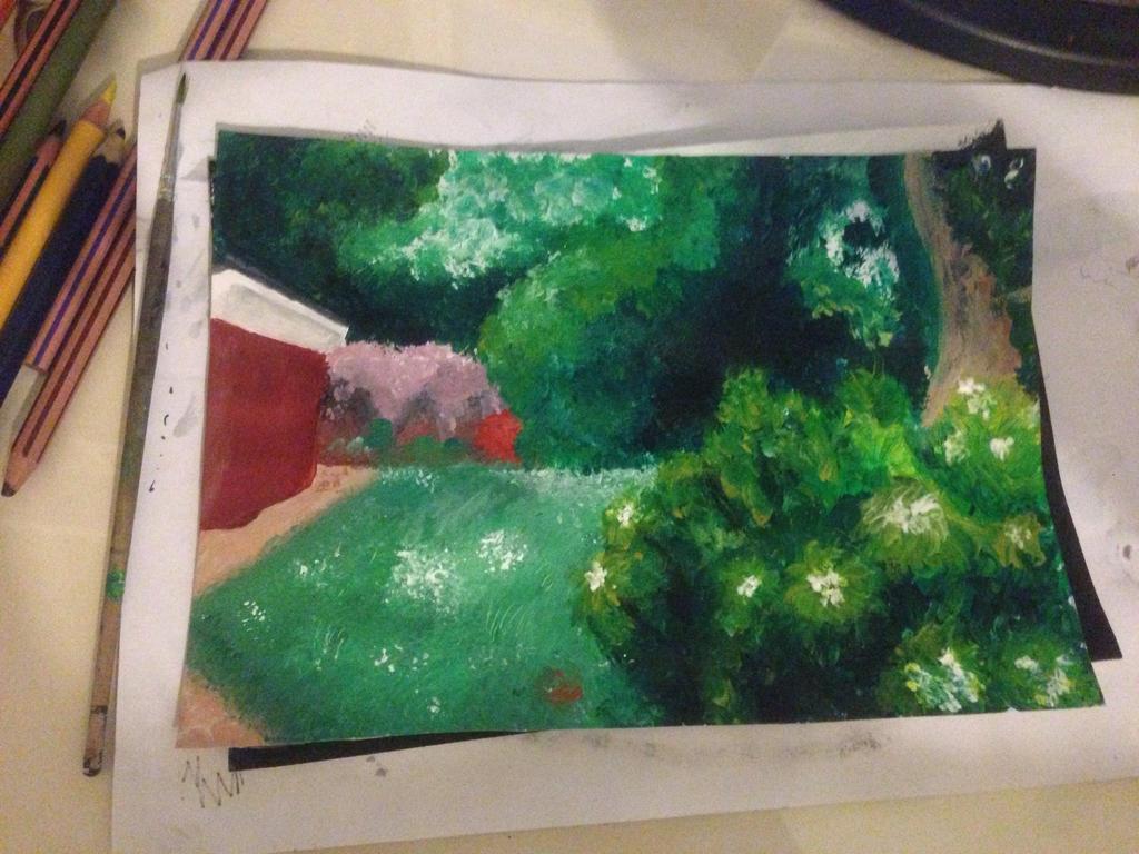 Secret garden painted version by chibiloverqueen