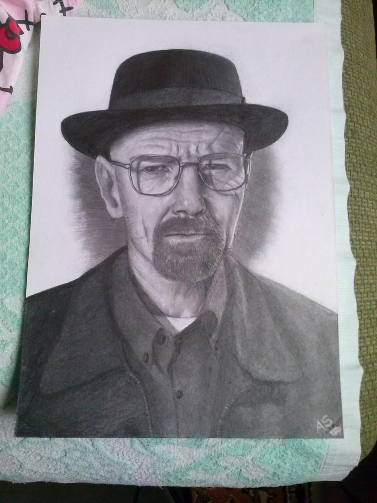 Walter White-Heisenberg by Yona-ke