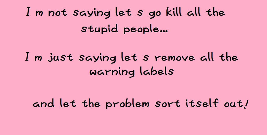 Stupid Memes are Stupid! by Reinhold-Hoffmann