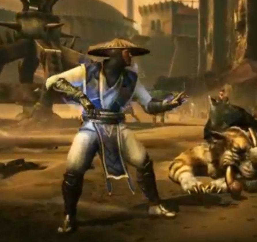 Raiden Mortal Kombat X Screenshot by Reinhold-Hoffmann