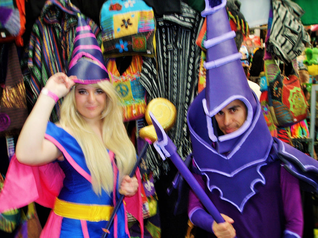 supanova dark magician and dark magician girl by masterwriter