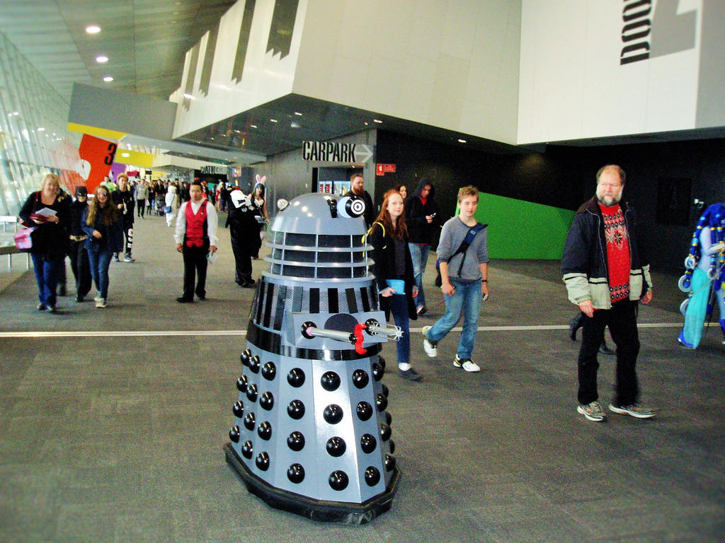 oz comic con dalek by masterwriter on oz comic con 2015 dalek by masterwriter