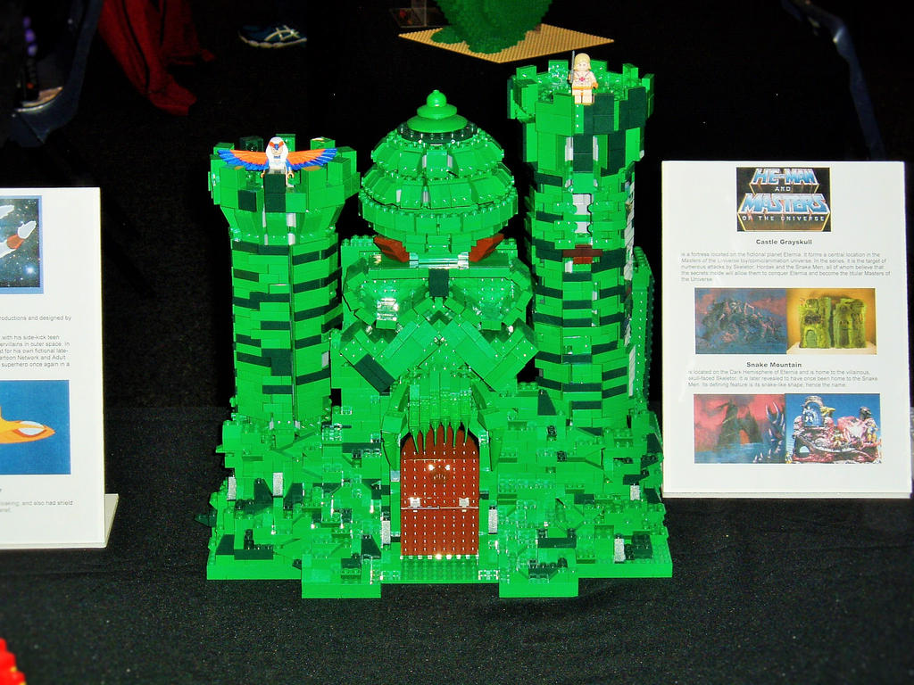 oz comic con lego castle greyskull by masterwriter on oz comic con 2015 lego castle greyskull by masterwriter