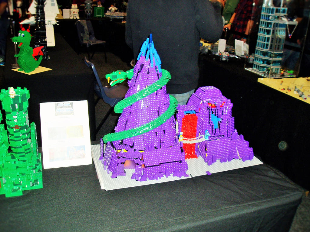 oz comic con lego snake mountain by masterwriter on oz comic con 2015 lego snake mountain by masterwriter