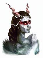 Jotun Loki AU sketch by umak00