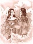 Aragorn and Arwen