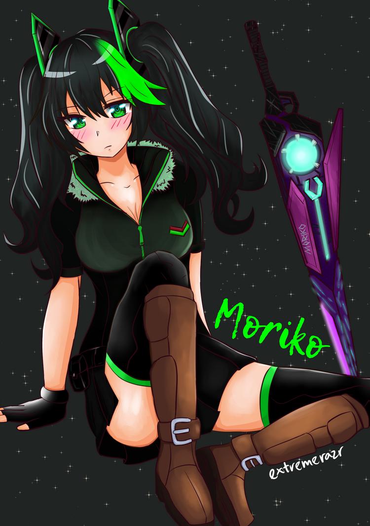 Moriko (OC) by extremerazr
