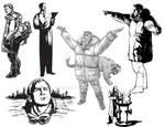 More Azriel Sketches