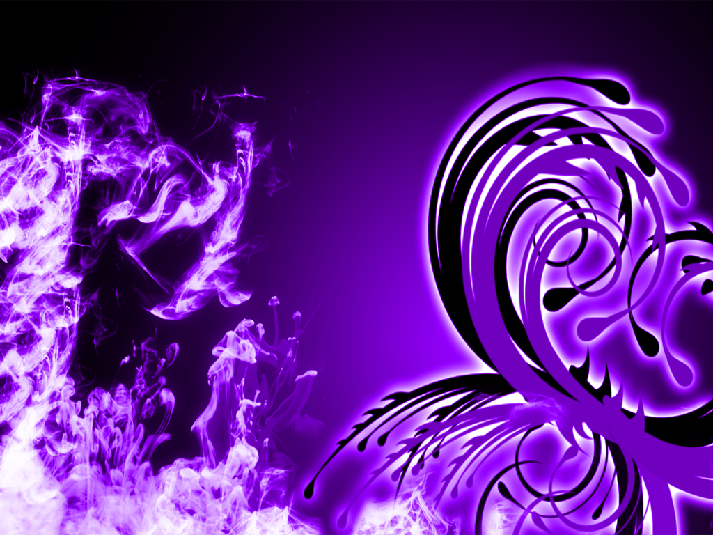 Purple Abstract Wallpaper by Deathamusesme on DeviantArt