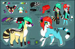 (OLD) Cake and Lolita Double Reference Sheet