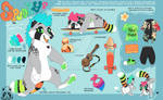 (NEW) Spunky Reference Sheet