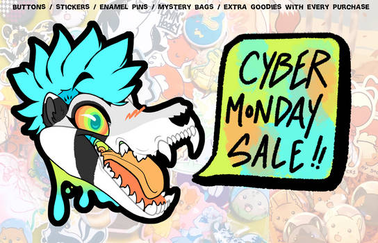 25% OFF Cyber Monday SALE